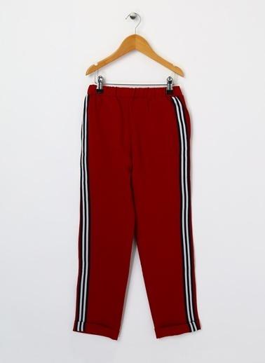 Pink&Orange Pink&Orange Kız Çocuk Kırmızı Pantolon Bordo